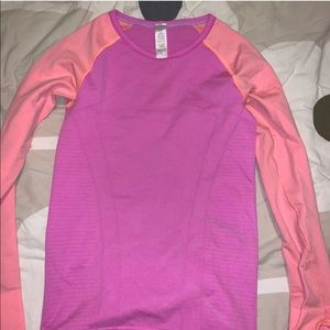 Pink and orange Ivivva long sleeve